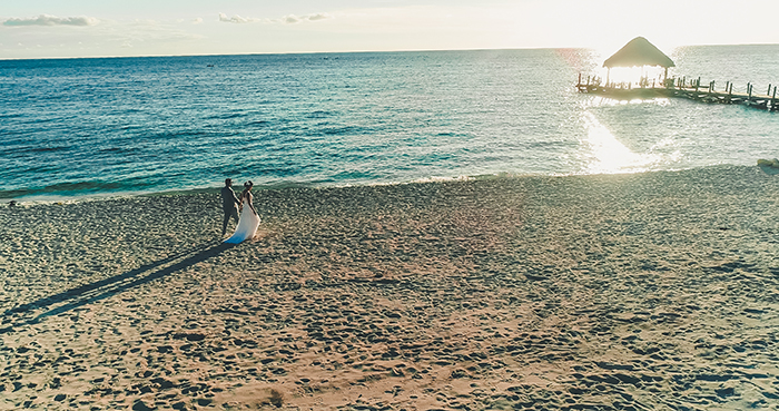 Destination wedding romântico e leve em Punta Cana – Rafaella & Fernando