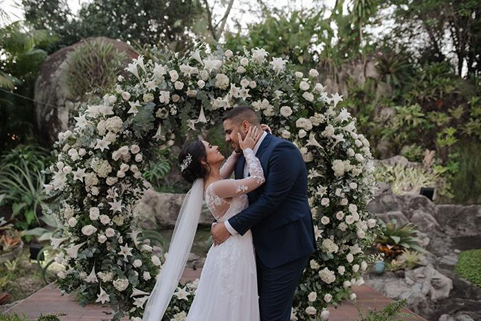 Casamento romântico e mágico no pôr do sol do Rio de Janeiro – Amanda & Natan