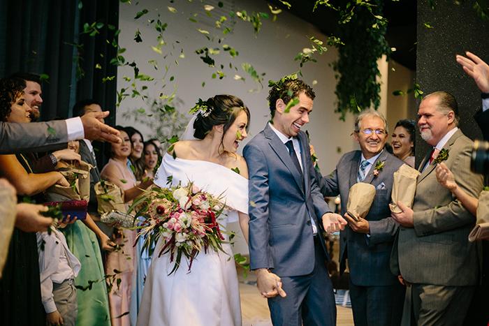 Um casamento intimista cheio de significado numa tarde alegre em Bauru – Genine & Elon