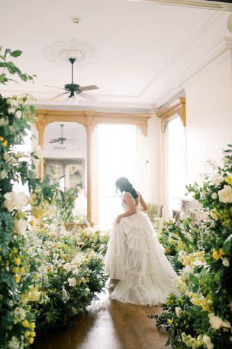 decoração de casamento sem espuma floral