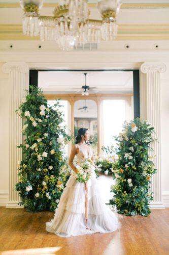 decoração de casamento ecológica