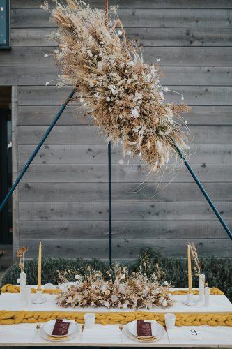 decoração sustentável de casamento