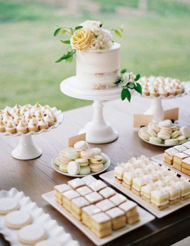doces de casamento sem forminha
