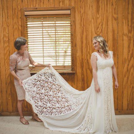 vestido de noiva upcycle