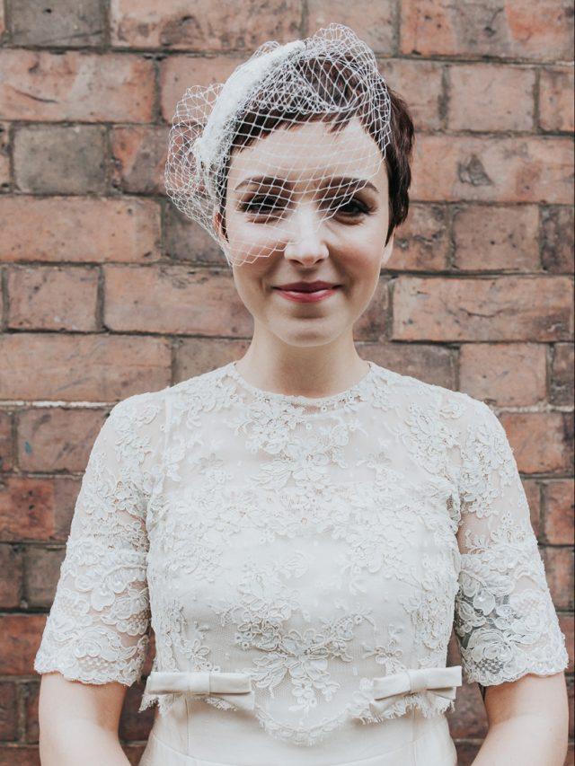 Cabelo Curto: Penteados de noiva