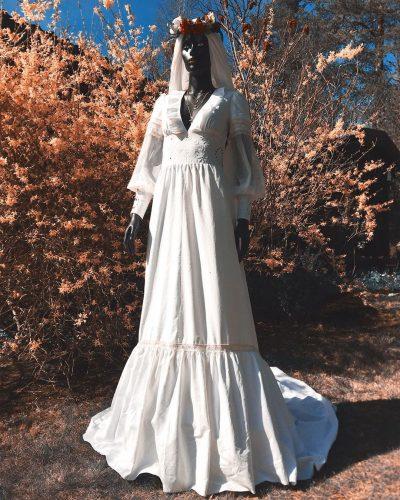 vestido de noiva reciclado