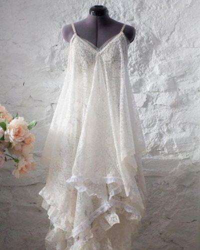 vestido de noiva upcycled