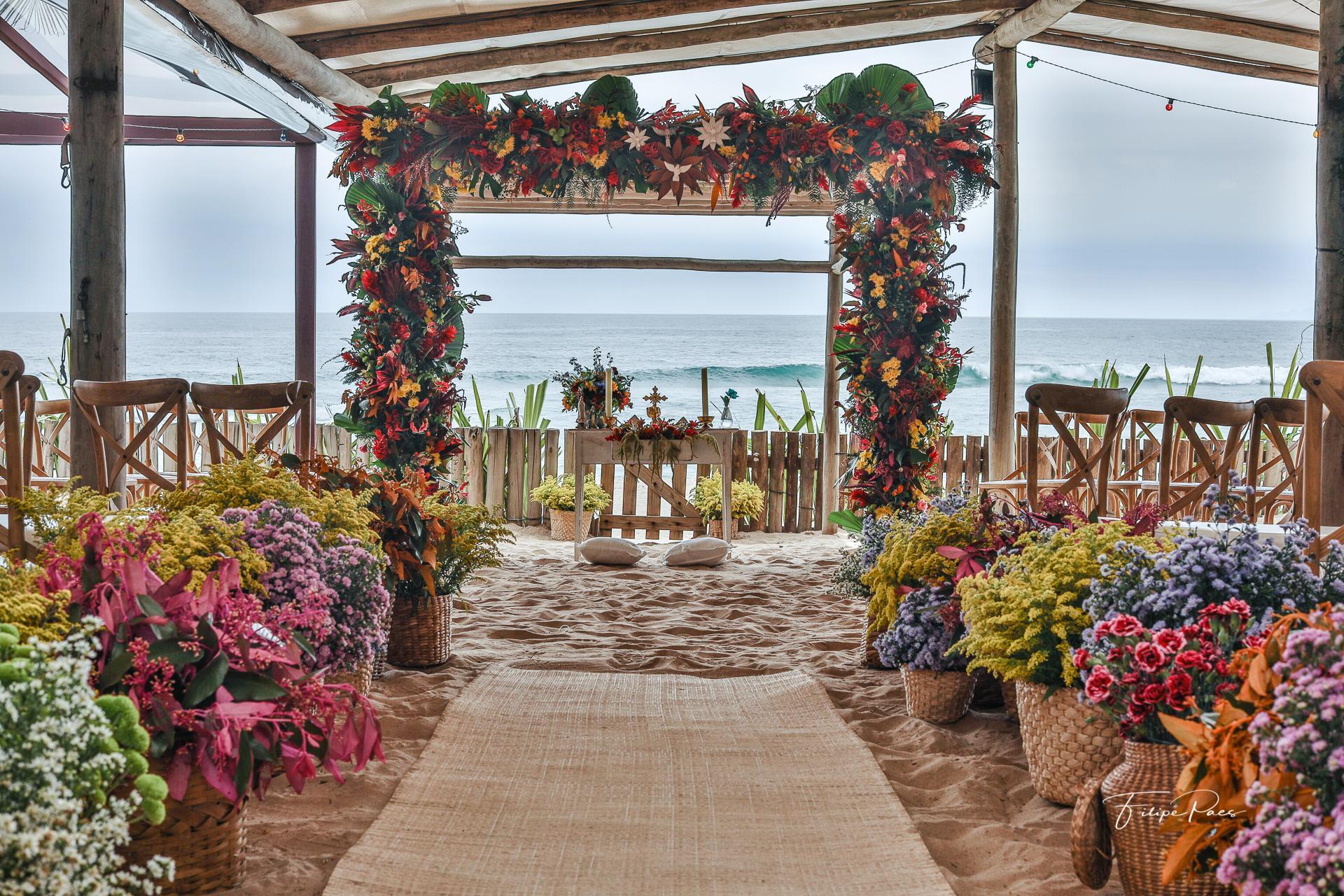 luai cabanas espaço para casamento no litoral de sp