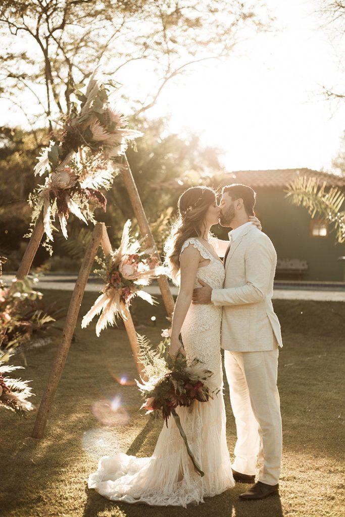 {Editorial Fall in Love} Aconchegante micro wedding numa gloriosa tarde de inverno