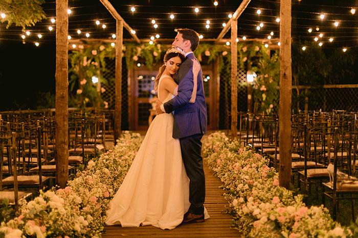 Casamento clássico ao ar livre com toque inglês em Atibaia – Larissa & Matheus