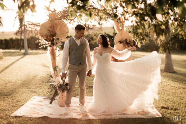 Micro-wedding leve e intimista em igreja com recepção em fazenda no interior de São Paulo – Gabriela & João Pedro