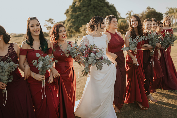 Casamento rústico romântico ao pôr do sol de Londrina – Loys & Jeff