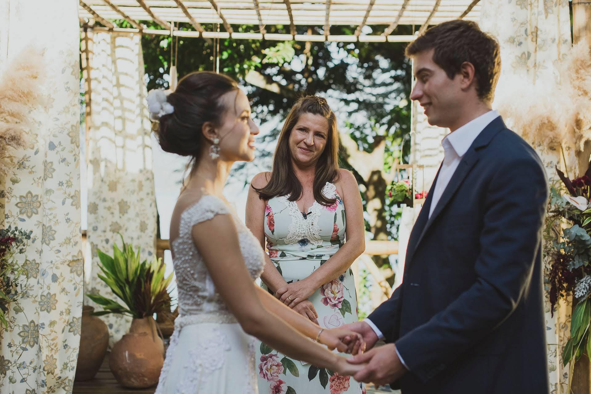 celebrante de casamento no litoral de sp