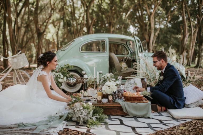 Casamento na igreja de manhã e piquenique romântico em São José dos Campos- Ana Luiza & Tainã