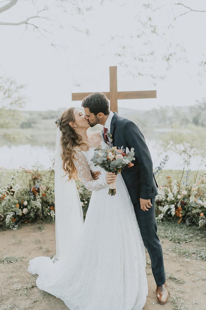 Casamento rústico numa tarde aconchegante em Bragança Paulista – Stephanie & Thiago