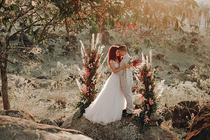 {Editorial Dois Corações} Um elopement wedding com a essência dos noivos ao nascer do sol
