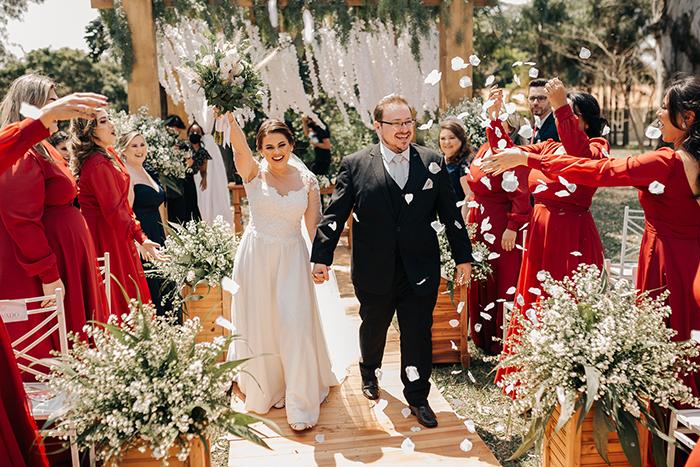 Mini wedding rústico numa manhã cheia de charme no interior de São Paulo – Mariana & Guilherme