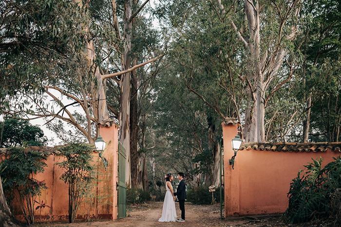 Charmosos casamento rústico com cerimônia ao ar livre no interior de São Paulo – Hannah& Leandro
