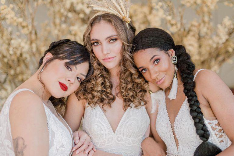 {Editorial Boho Inside} Uma perfeita harmonia boho na diversidade de beleza para noivas