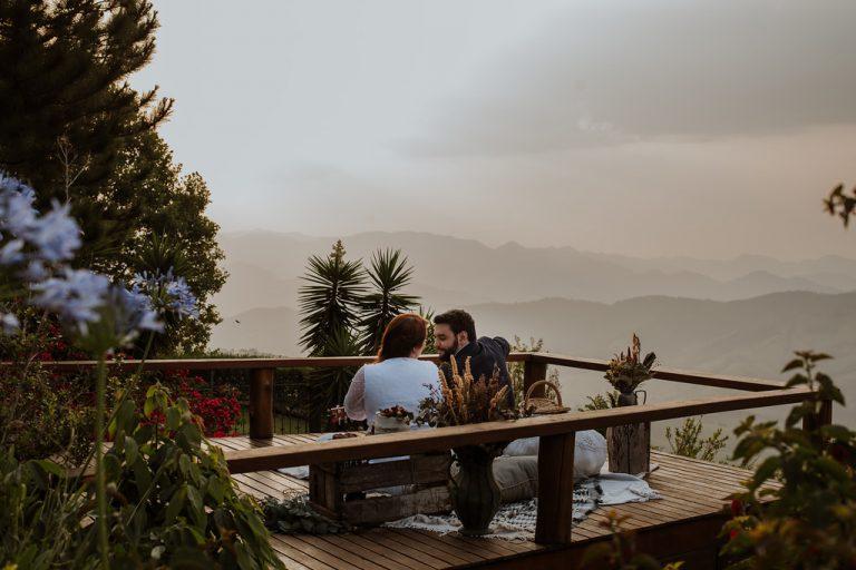 Elopement wedding ao ar livre com vista paradisíaca em Campos do Jordão – Thais & Samir