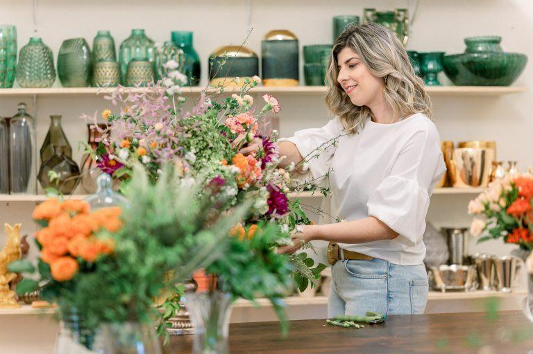"""Flávia Chicarelli: """"Quero poder encantar por meio das flores."""""""