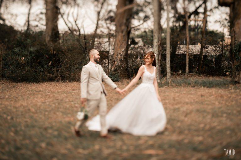 Mini wedding acolhedor ao ar livre no interior de São Paulo – Vanessa & Dyonathan