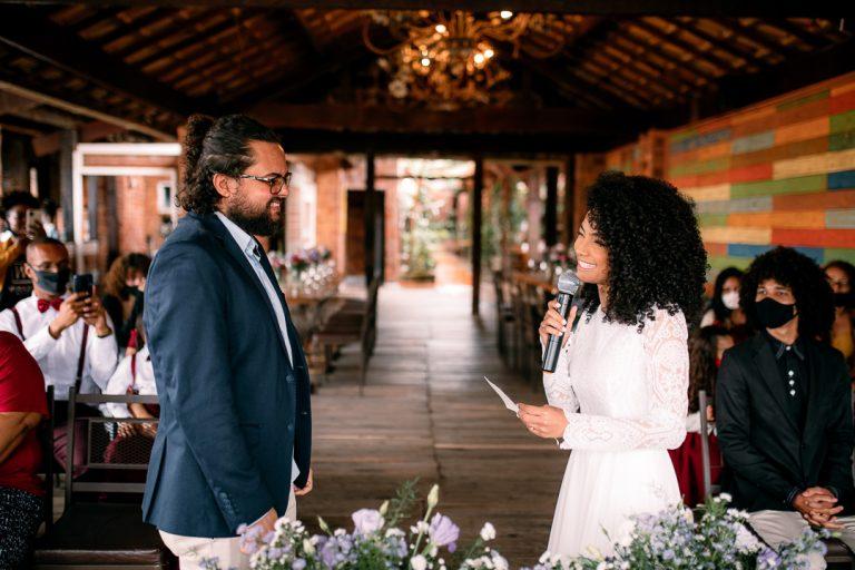 Micro wedding rústico em tarde descontraída em Belo Horizonte – Ester & José