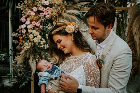 Destination wedding boho surpresa para o noivo numa tarde intimista em Salvador – Talita & Fabien