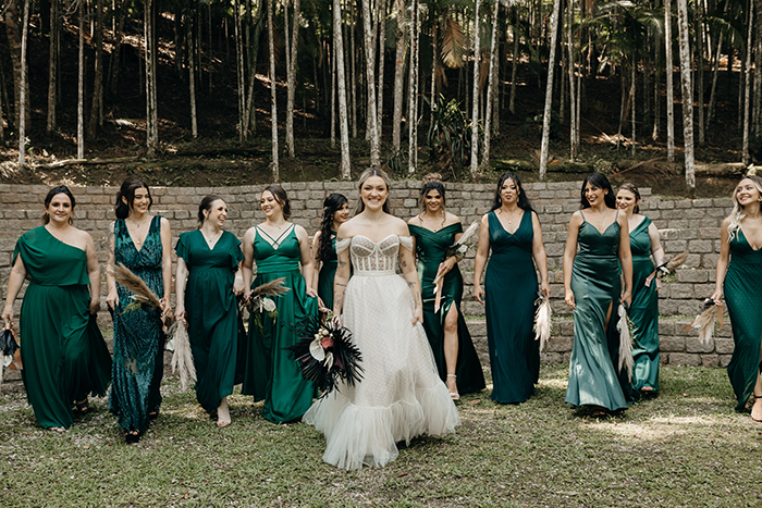 Um descontraído mini wedding cheio de personalidade na Casa Giardino – Isabela & Fellipe