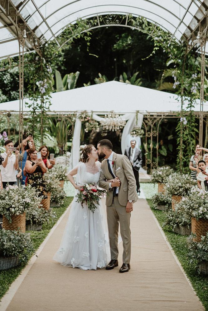 Casamento romântico e delicado em manhã gostosa no Ravena Garden – Thais & Henrique