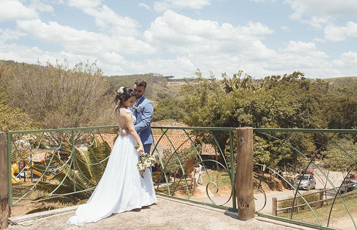 Casamento intimista em uma linda manhã na Fazenda Floresta – Raquel & Matheus
