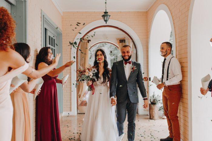 Home Wedding intimista e encantador em São José dos Pinhais – Karin & Hyan