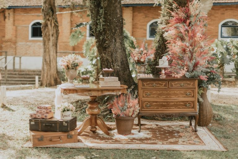 bella flor decoração de casamento