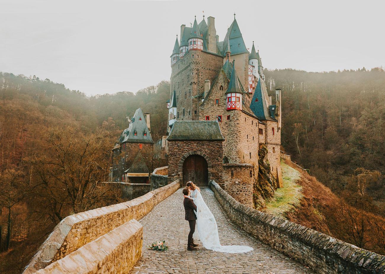 casamento a dois no castelo