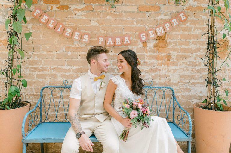 Casamento com detalhes fofos da Disney em São Paulo – Marina & Luccas