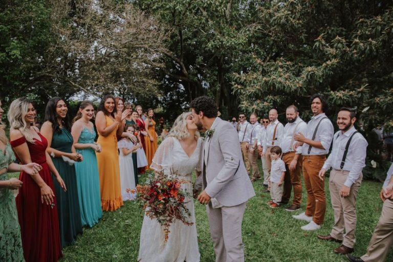 Casamento adorável ao ar livre no interior de São Paulo – Bruna & Lucas