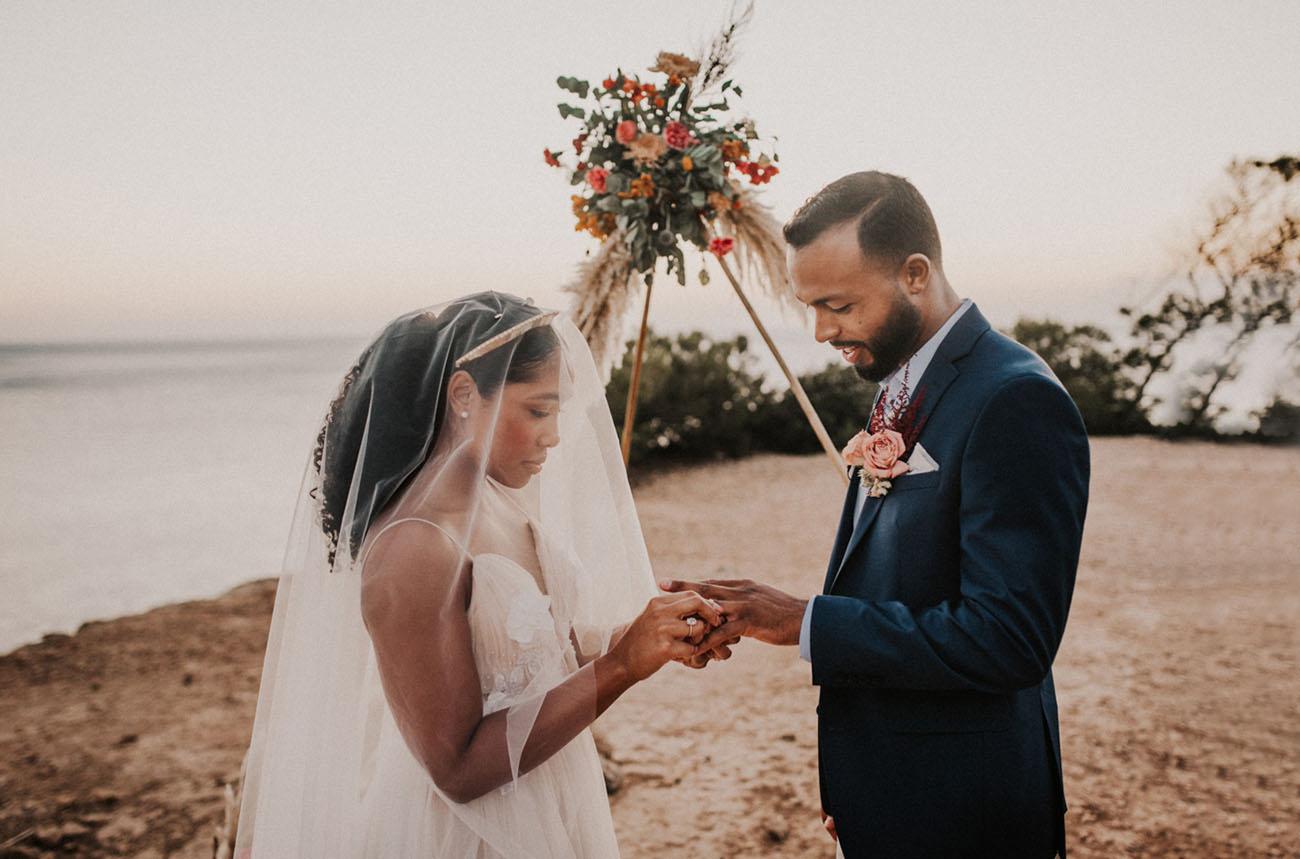 cerimonia de casamento a dois