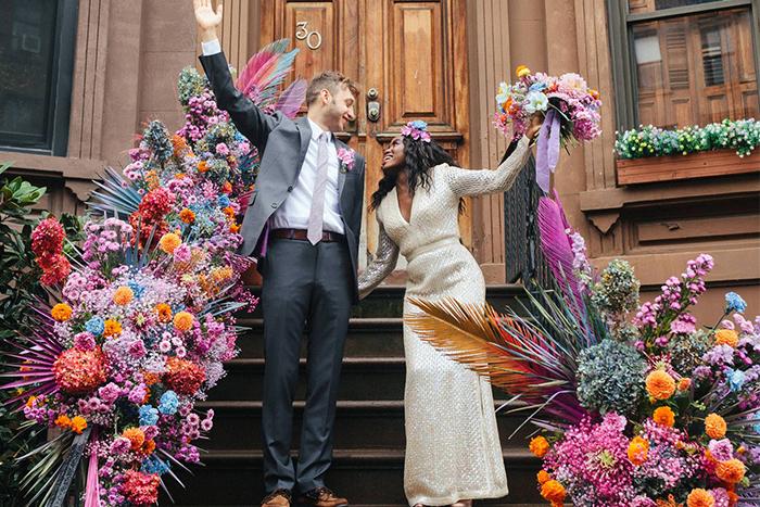 {Tendência} 10 maneiras para usar cores alegres e vibrantes num casamento colorido inesquecível