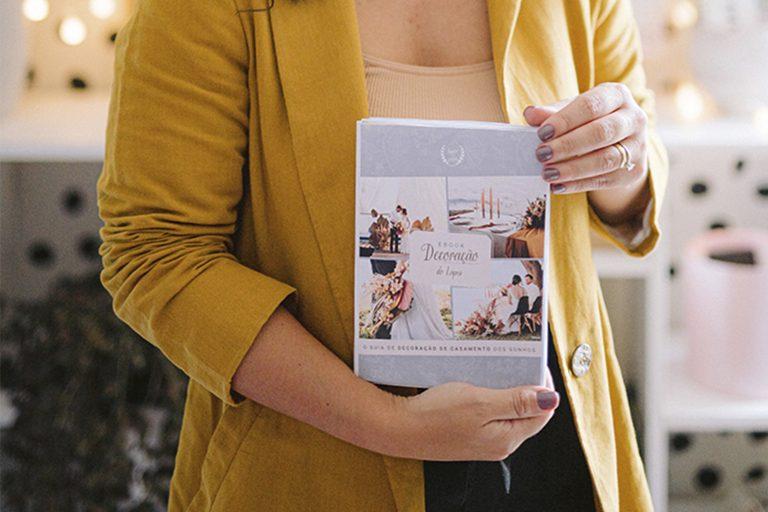 """{Lançamento} Baixe gratuitamente nosso e-book """"Decoração do Lápis: o guia de decoração de casamento dos sonhos"""""""