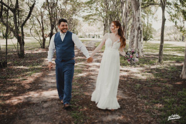 Mini wedding leve e feliz ao ar livre no interior de São Paulo – Beatriz & Fabrício