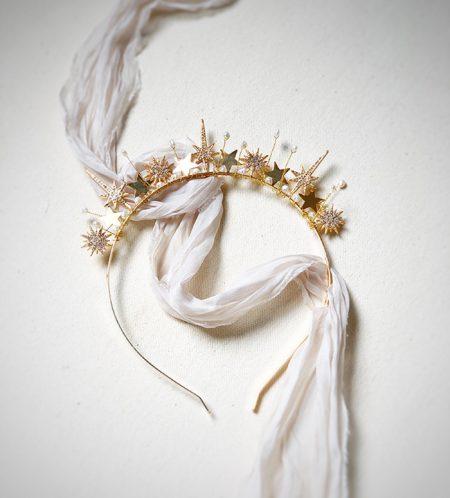tiara para noiva baroque atelier