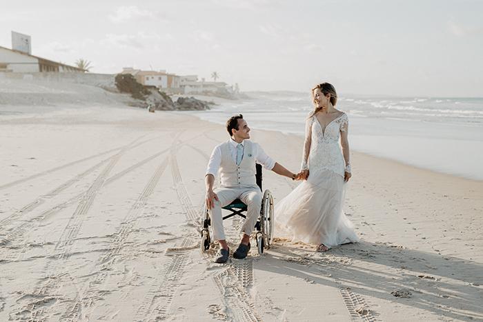 Destination Wedding emocionante e adorável numa tarde no Ceará – Elisabete & João Filipe