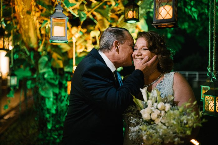 Noite adorável para celebrar Bodas de Coral com renovação de votos – Cristina & Fernando