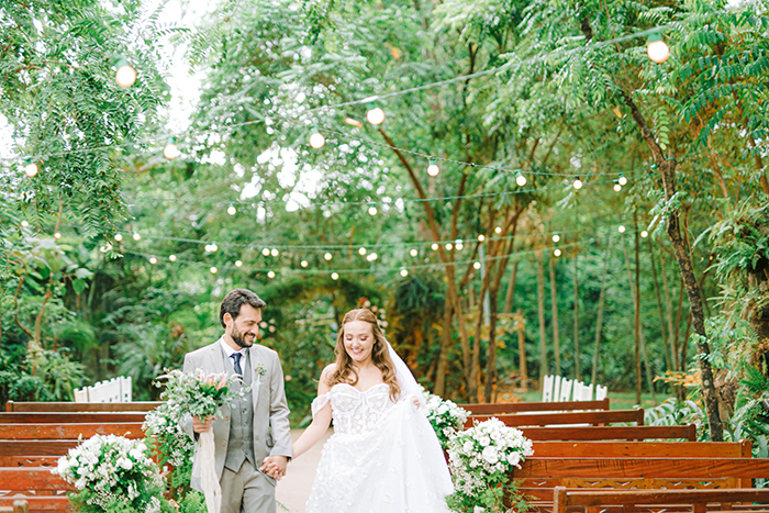 Casamento no campo doce e romântico em São Paulo – Danielle & Flávio