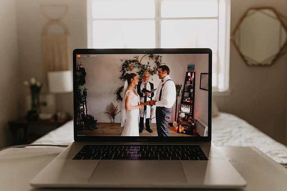 como fazer um casamento online