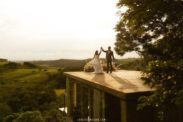 {Editorial Tudo se Ilumina} Elopement wedding ao pôr do sol no terraço deslumbrante da Villa Sansu