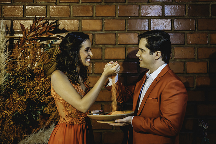 O casamento em cinco elementos: Milla & Dan mostram o que a natureza pode ensinar aos relacionamentos
