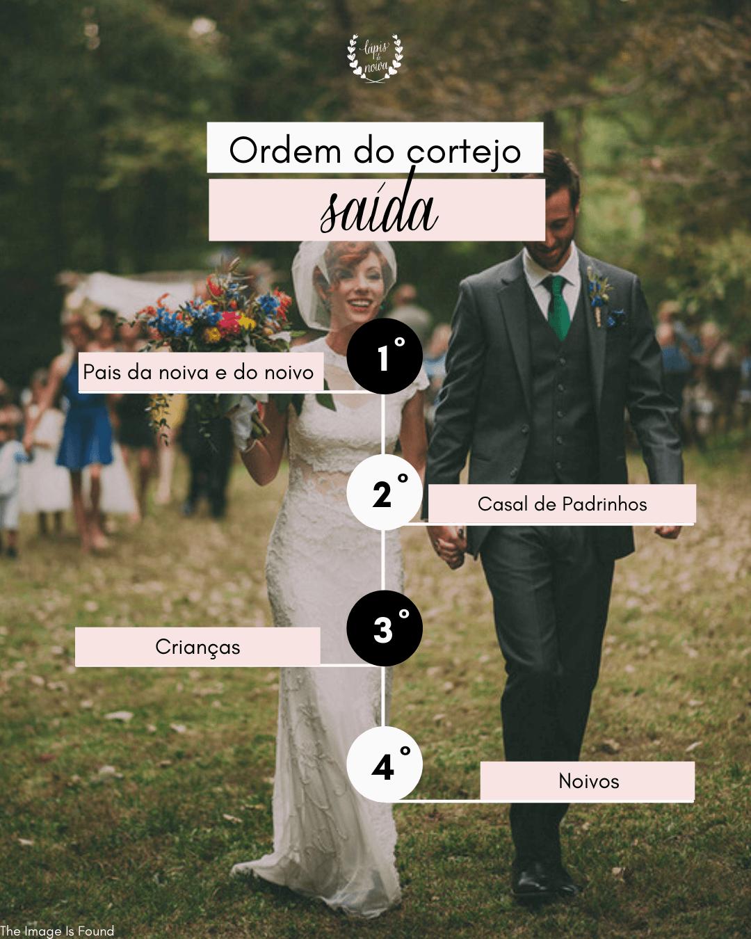 ordem de saída do casamento
