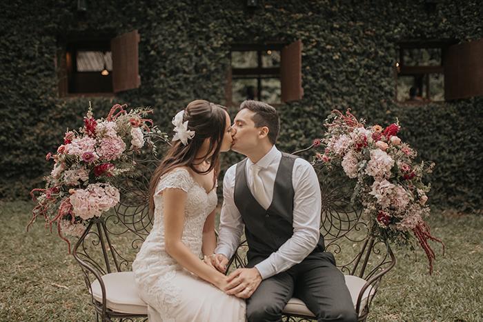 Casamento no campo em manhã agradável e cheia de alegria em São Paulo – Victoria & Fernando