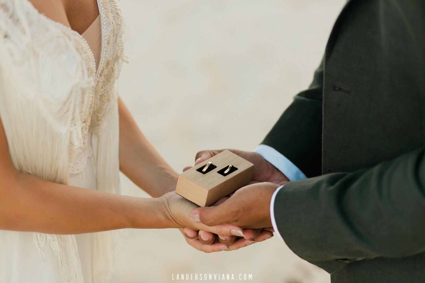 aliança casamento Brazil & Murgel